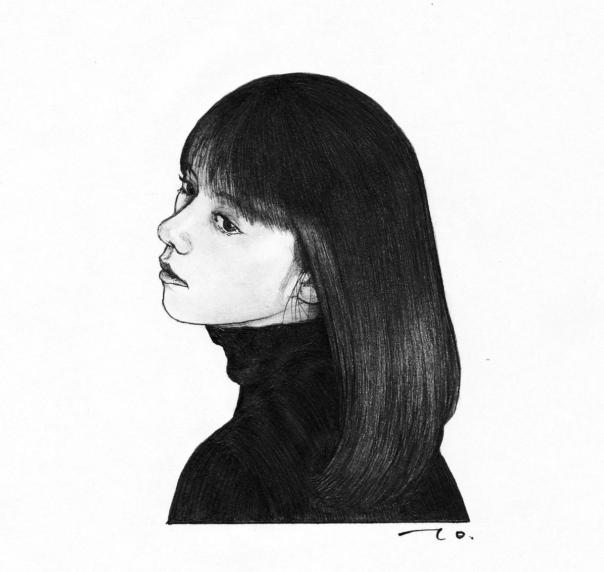リアル鉛筆スケッチ画(似顔絵)をお描きします プロフィールアイコンやプレゼントに最適! イメージ1