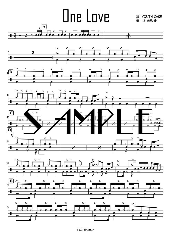 演奏したい曲のドラム譜を作成します 新旧問わず、さまざまな音楽ジャンルに対応。 イメージ1