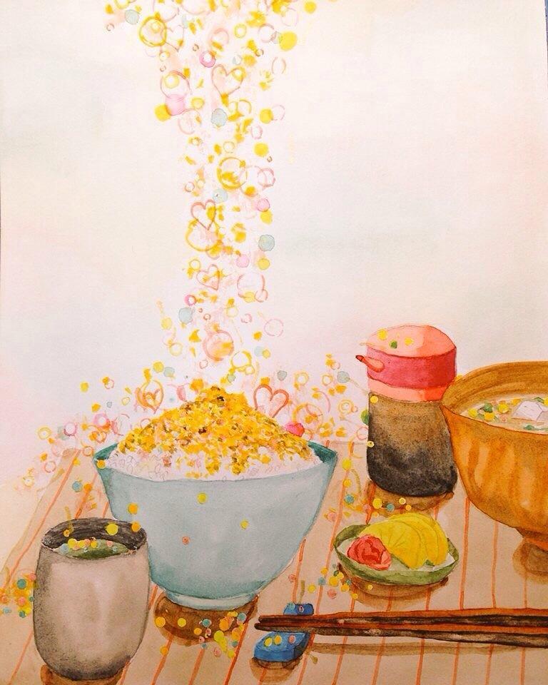 水彩で絵をお描きします 柔らかいタッチの水彩画を描きます!