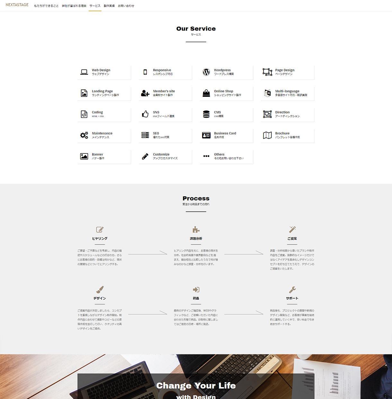 格安でホームページを作成します これからは自分でサイトの更新作業ができます!