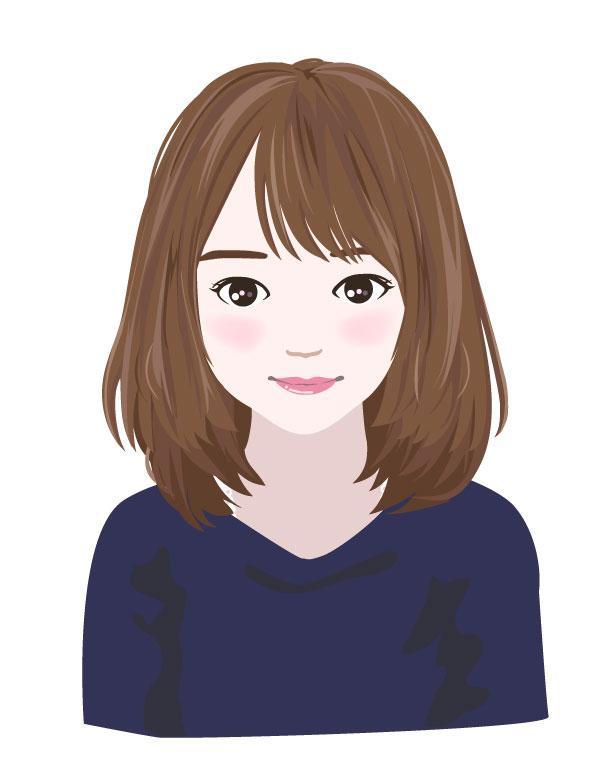 美容関係のイラスト描きます *美容関係のサイトやフライヤーの挿絵に(似顔絵も可)*