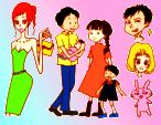 かわいい・シンプル・ほのぼの イラスト描きます 商用可能です。ホームページ、パンフレット、SNSなどに・・