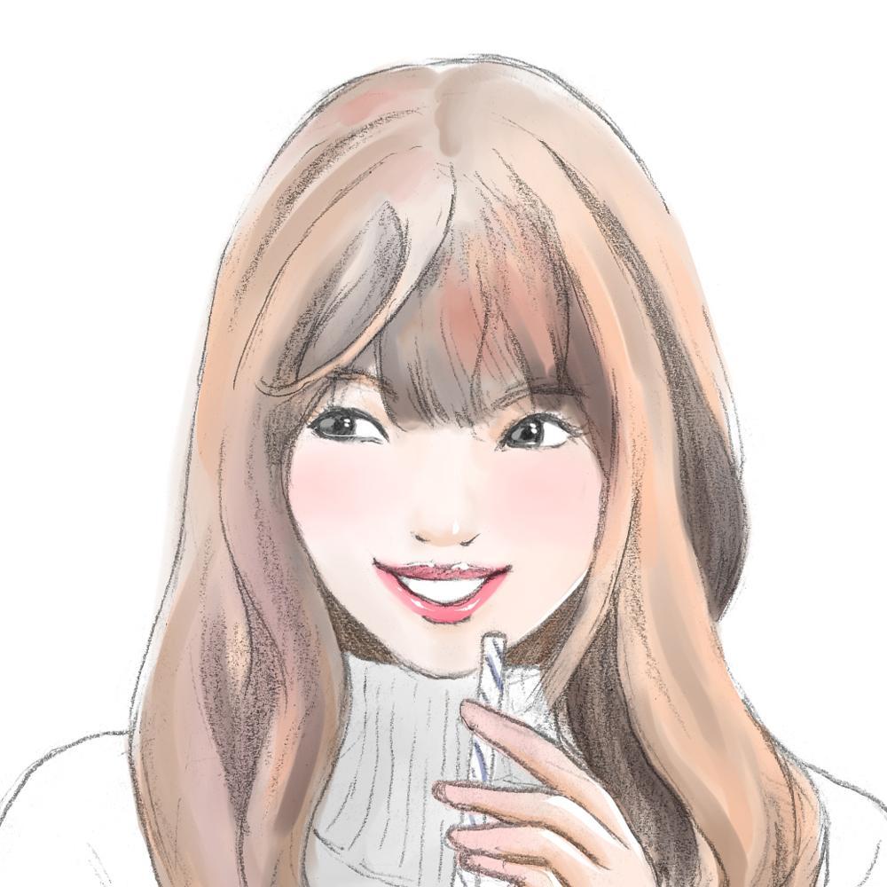落ち着いた雰囲気の似顔絵イラストを制作します 鉛筆スケッチ+デジタル着彩=やわらかな雰囲気