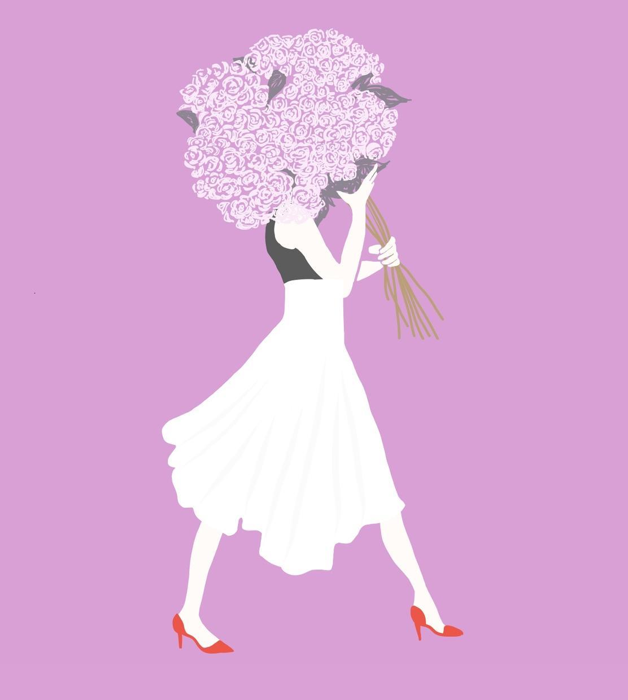 ロゴやチラシ、イラストなど幅広く提供します 女性らしいデザインが得意です。