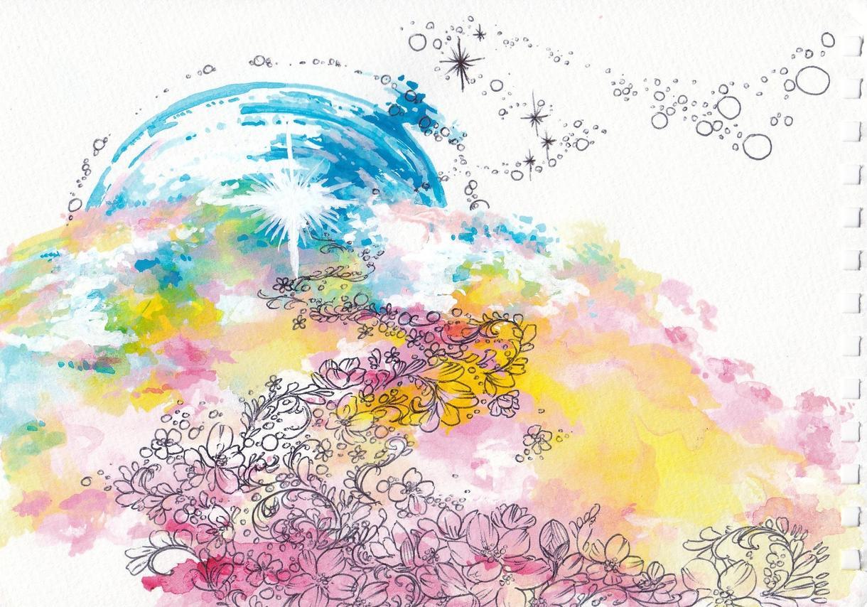 美しいデザイン描きます 芸大卒の私が心があたたまる、美しいデザインを提供します★