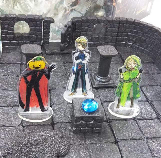 卓ゲ部様専用 TRPGやボドゲで使う駒作成します オリジナルキャラクターの駒で遊べますよ