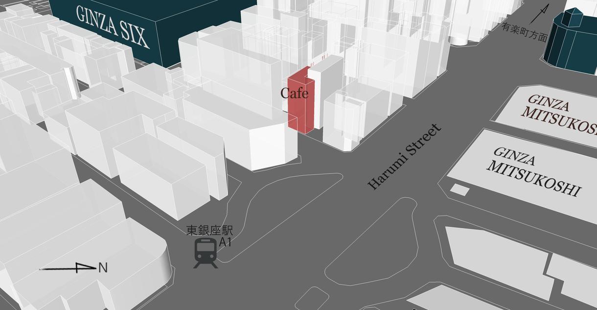 ちょっとカッコイイ3Dマップ作成致します 案内広告・HP・ショップカードなどに是非ご活用ください
