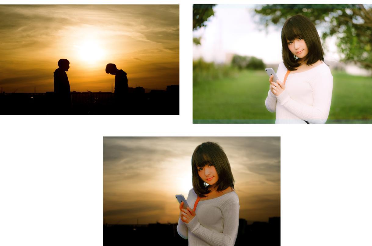 写真の修正を承ります 色修正、合成などをご依頼ください!