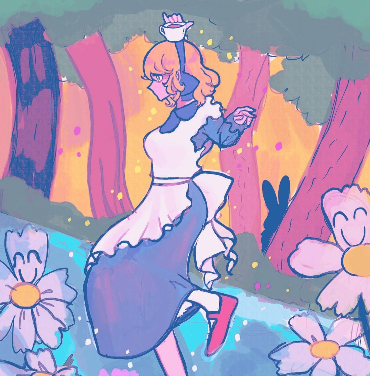 色彩にこだわったキャラクターイラスト描きます 色彩と雰囲気にこだわった絵をお届けします✲ イメージ1
