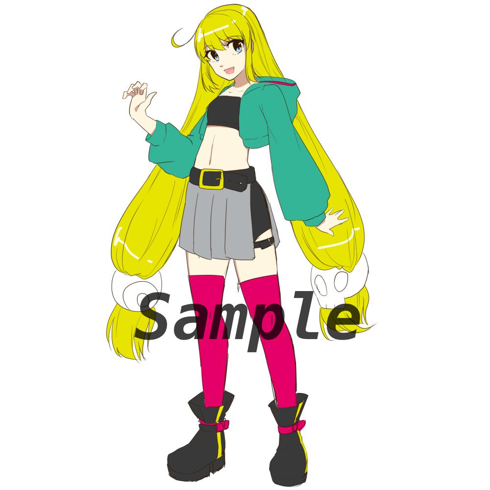 二月末まで値下げ中!!立ち絵イラスト制作いたします TRPGやオリジナルキャラクターの立ち絵をお描きします。