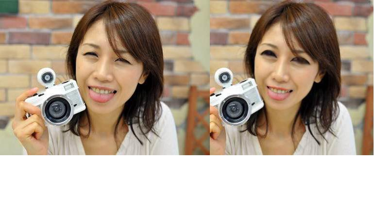 目を大きく・鼻をちいさく・口を小さく!写真・写メ・画像加工いたします!