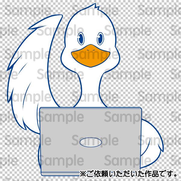 動物のポップ・キュートな擬人っぽいイラスト描きます HP・ブログ・SNS等のアイコンや、皆様のペットに是非どうぞ