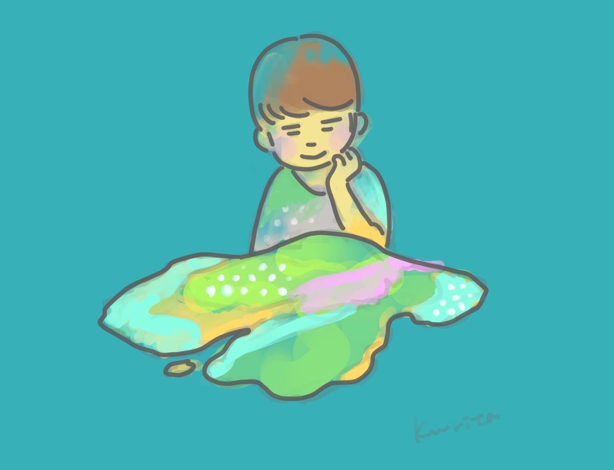 島とあなたのイラスト描きます 普段から架空の島に逃避しがちな方は是非!