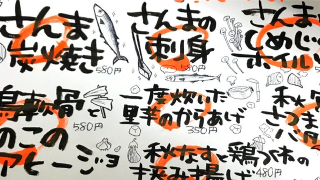 初依頼OK!イラストメニュー描きます 手書き筆文字!イラストびっしりも可能! イメージ1