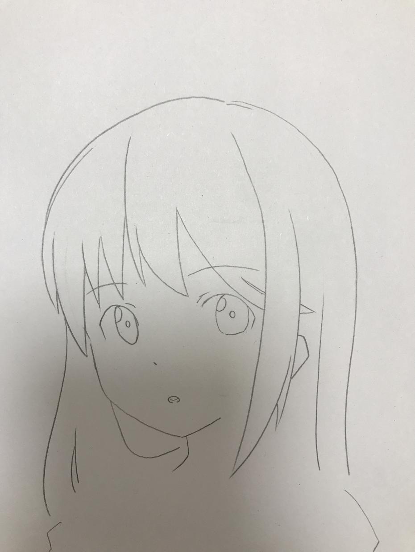 あなたの描いた顔のイラスト修正します 顔を描くのが得意です。よろしくお願いします