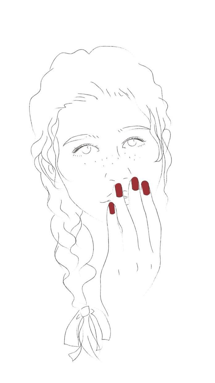 写真をオシャレな線画にします あなたのお気に入りなファッションをインスタ映えするイラストに