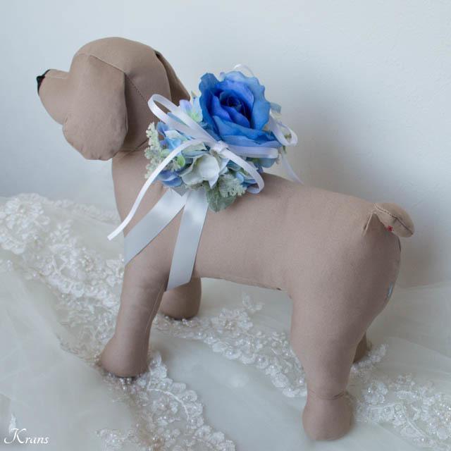 結婚式のリングドッグ用リングピローを制作します ~愛犬と一緒に過ごす結婚式~(リュックサックタイプ)