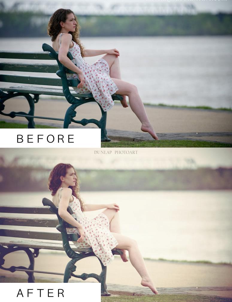 (美容関係のチラシやホームページに)イメージ写真をかっこよくPhotoshopで加工します