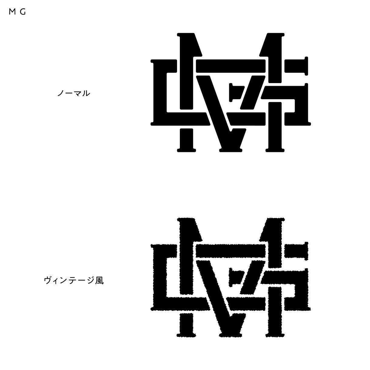 個人名やチーム名、団体名のイニシャルロゴ制作します 名前やチームのイニシャルをカスタム自由な世界に1つのロゴに! イメージ1