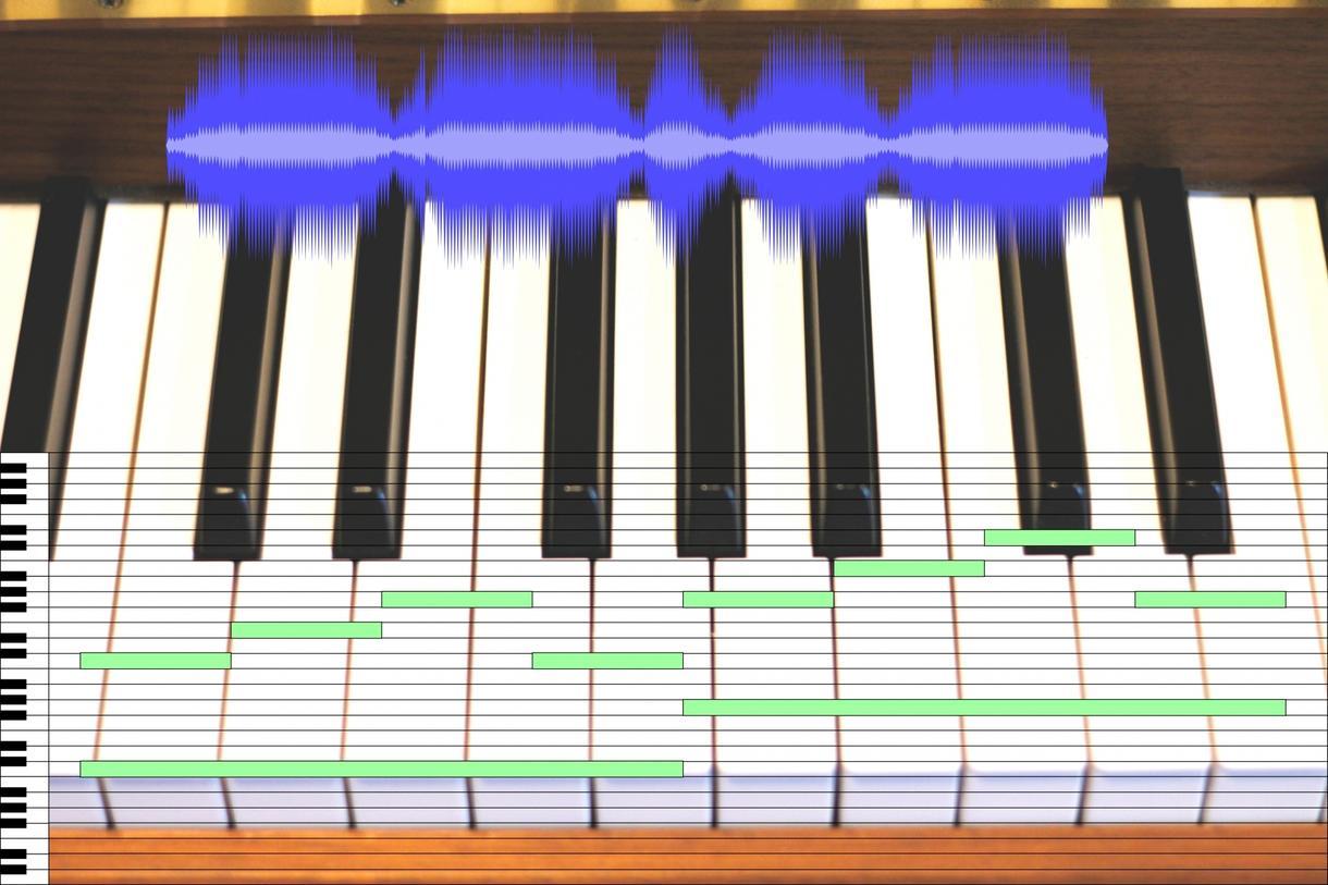 ピッチシフトのみ行います ボーカルのピッチシフトのみのお手軽サービス イメージ1
