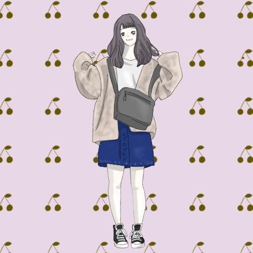おしゃれな全身のファッションイラスト描きます SNSのアイコンやブログのカット、プレゼントにもおすすめ!