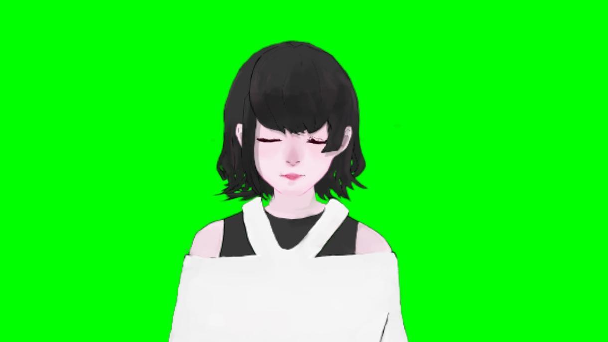 Facerigで動く2Dモデルを作成します ご希望に応じてキャラクター作成、2Dモデル化致します