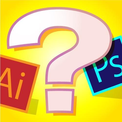 イラレ、フォトショ入門質問所。疑問点にお答えします 初歩的、基本的な質問等にお答えします。