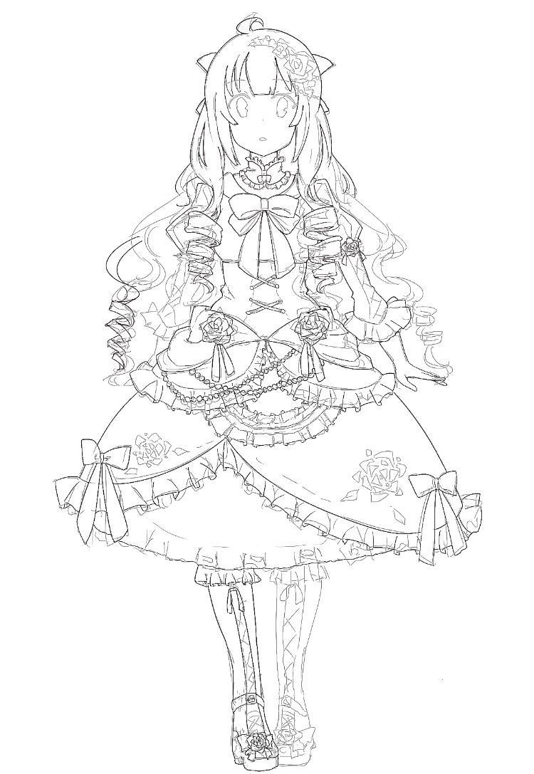 オリジナルのキャラクターデザインをいたします 【お試し】キャラクターデザイン(ラフのみ)をいたします。