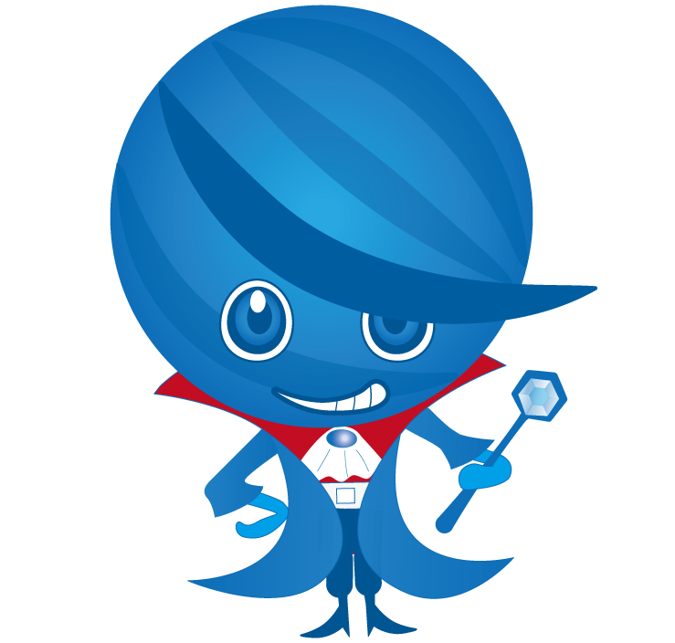 キャラクターデザイン承ります ちょっとデフォルメした、印象に残るキュートなイラストです。