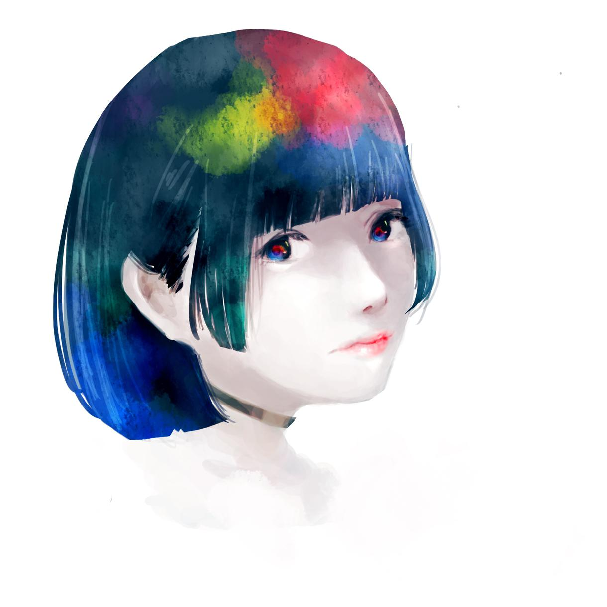 アイコン、イラストなど全般制作します 似顔絵から版権まで彩度の低いイラストがお好きなあなたに