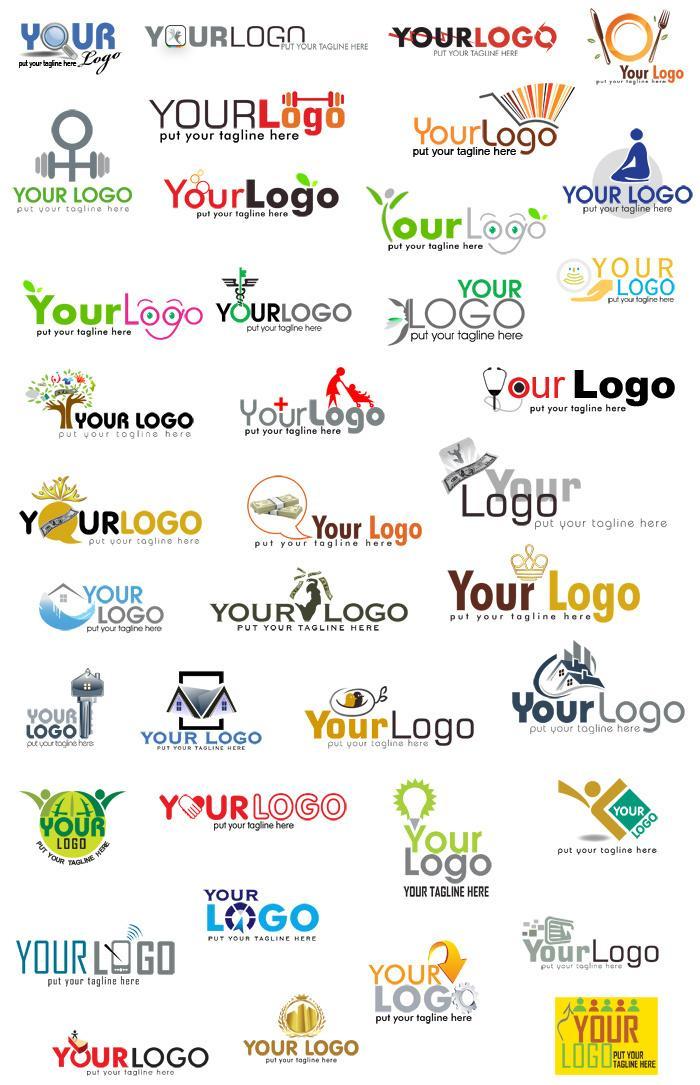 30個以上のロゴを提供します 簡単カスタマイズ! ロゴ作成にもう迷わない