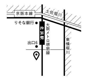 格安!シンプルでわかりやすい地図作成します チラシ用、WEB掲載用対応します イメージ1