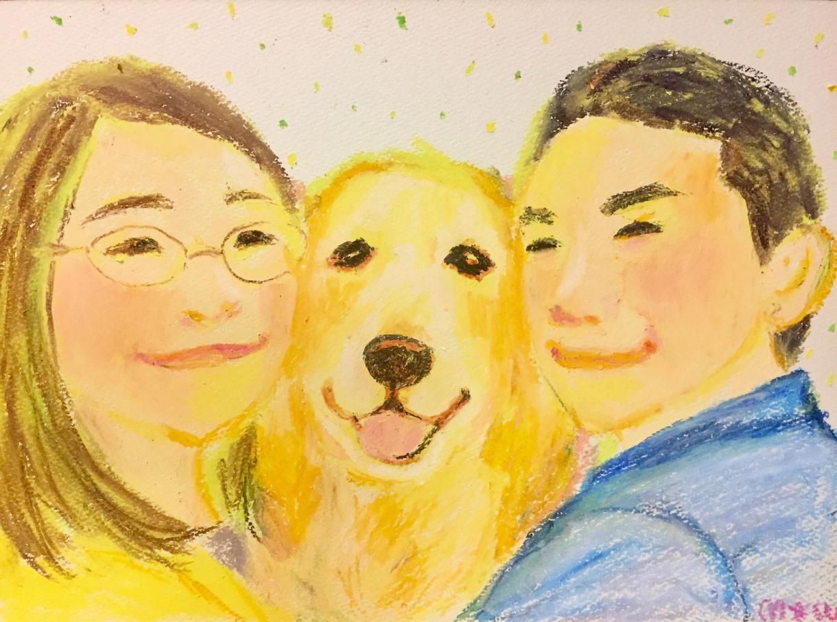 あったかい家族の似顔絵を描きます 家族や仲間の絆・愛に、力を与えたい方に。