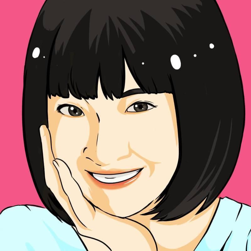 SNS等で使える似顔絵アイコン制作致します 少しリアルタッチなシンプル似顔絵いかがですか?