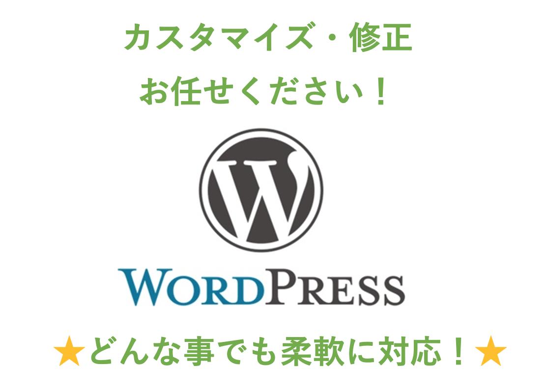 WordPressのカスタマイズや修正致します HPやブログでの困り事やカスタマイズ・レイアウト変更致します イメージ1