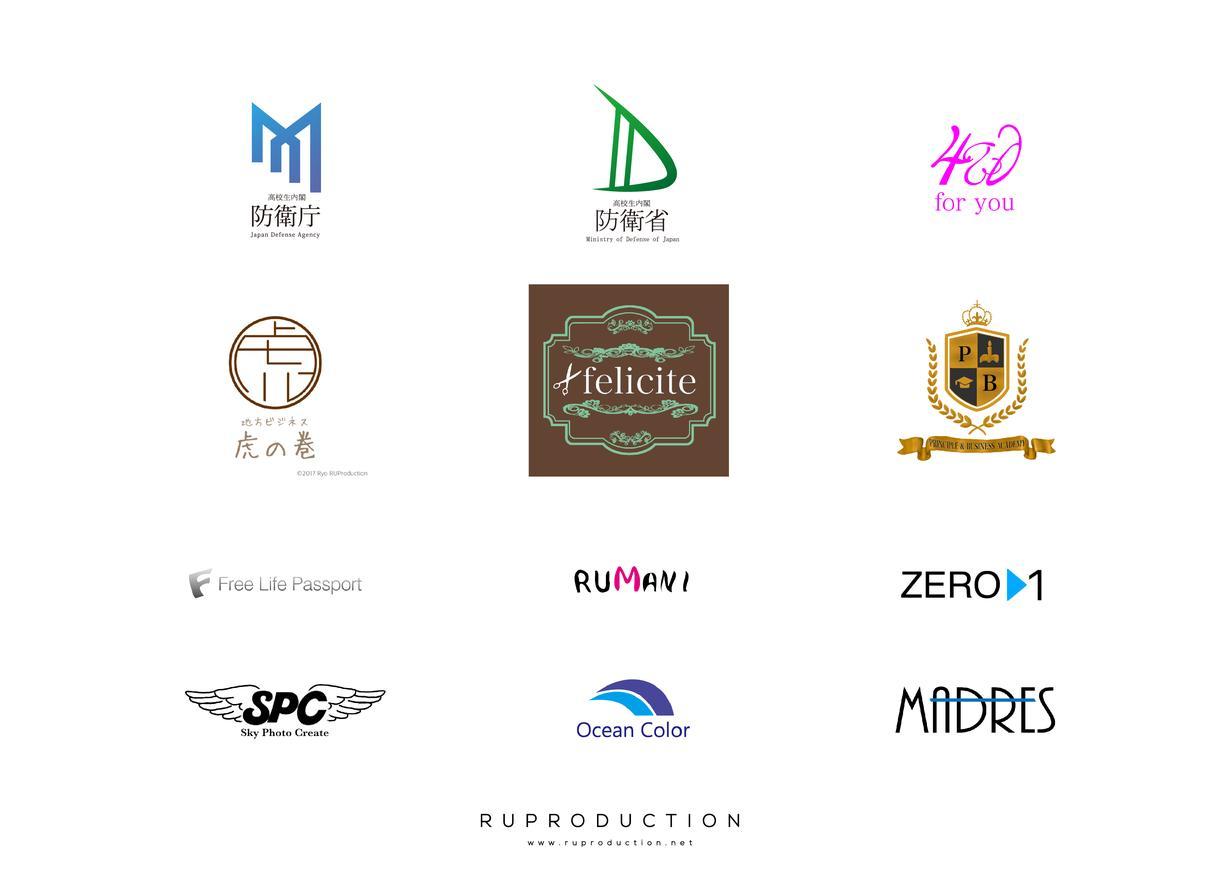 高クオリティなロゴを制作いたします 起業や新規事業などで新しいロゴがすぐ必要な方に!