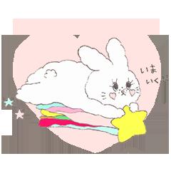 手描き風♫かわいい動物のLINEスタンプ作ります 可愛いものが大好き!オリジナルのスタンプを使いたいあなたへ♡ イメージ1
