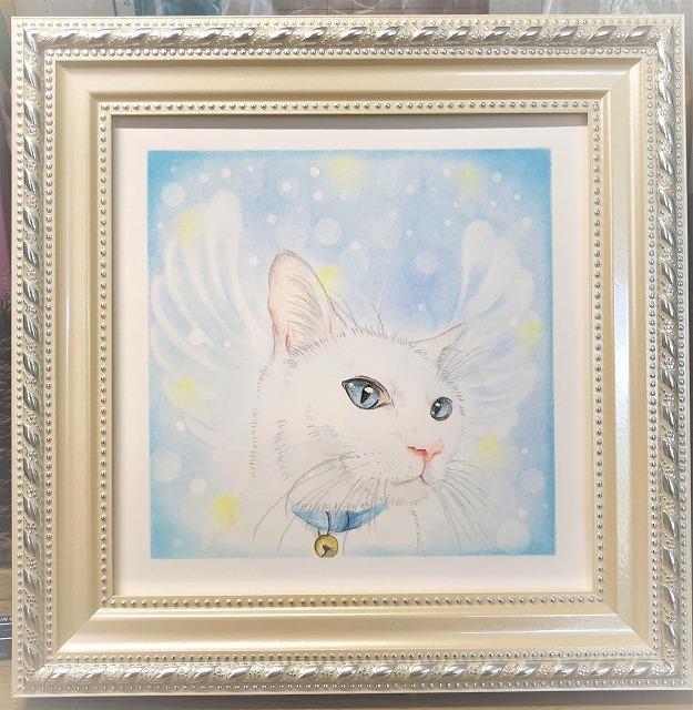 ペットの肖像画を色鉛筆とパステルで描きます アニマルコミュニケーターが描くペット肖像画はいかが?