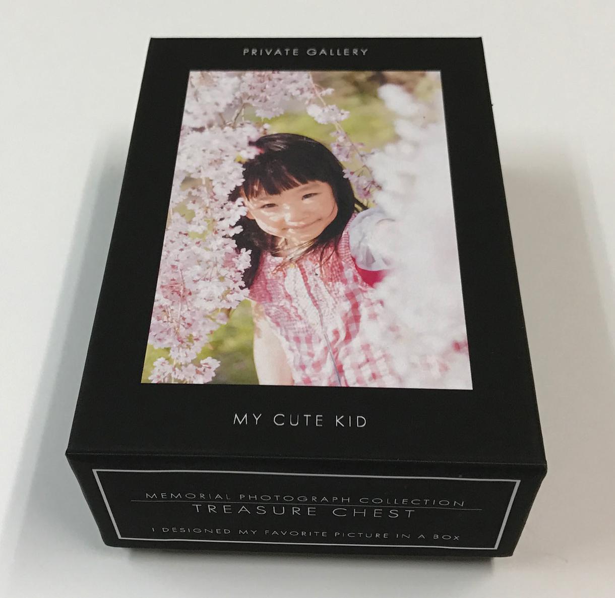 お気に入りの写真モチーフをデザインした箱を作ります 好みのサイズのオリジナル貼り箱5点を手作りでお作りします