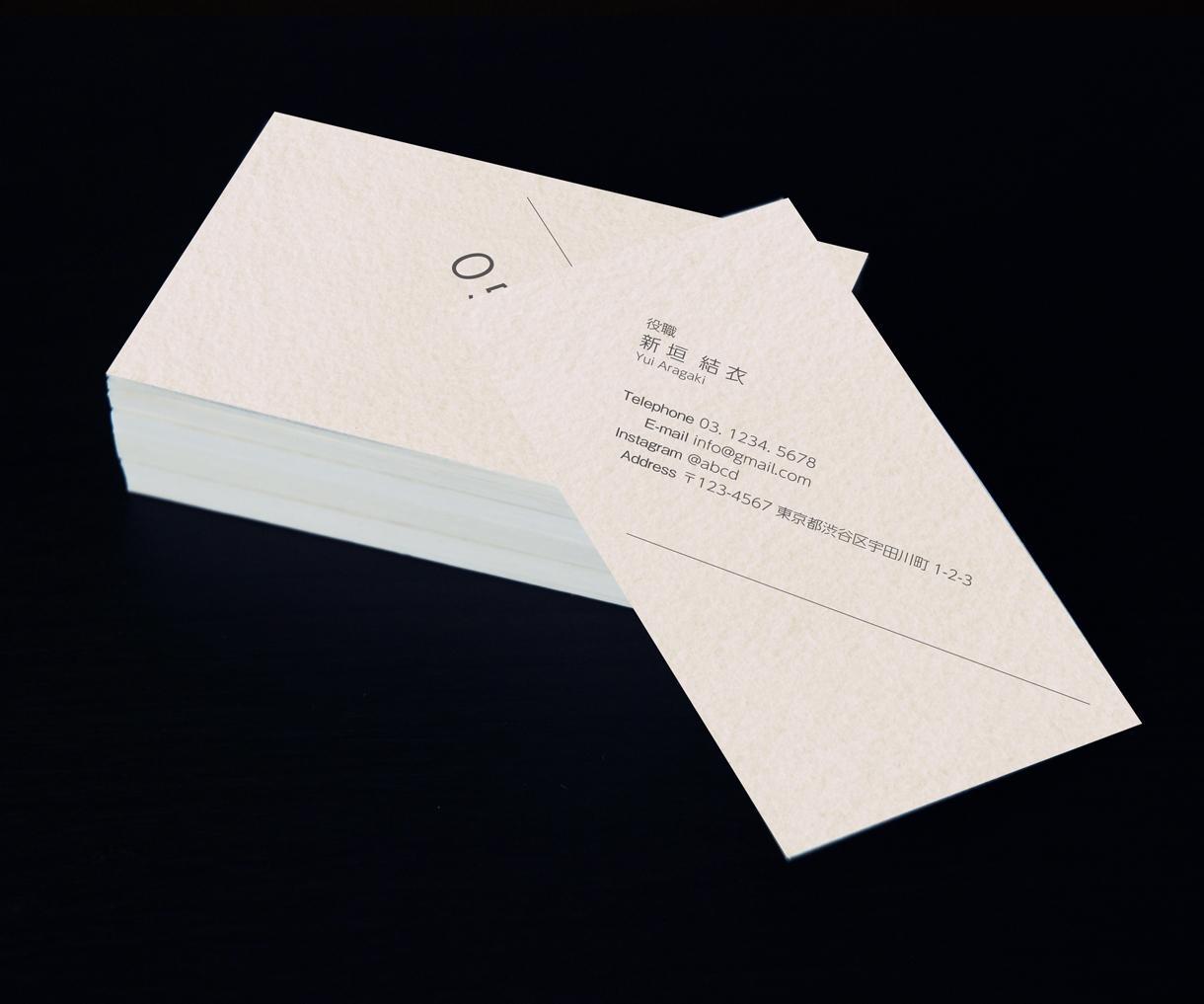 12月限定赤字価格の3000円で名刺デザインします おしゃれでかっこいいあなただけのオリジナル名刺を作成します!