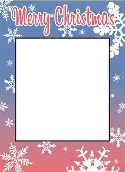 クリスマス用顔出しパネルのデータ作成いたします イベントを盛り上げる事ができます!