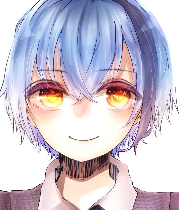 SNS等のアイコンを描きます あなたのアイコンキャラの瞳をキラキラに!