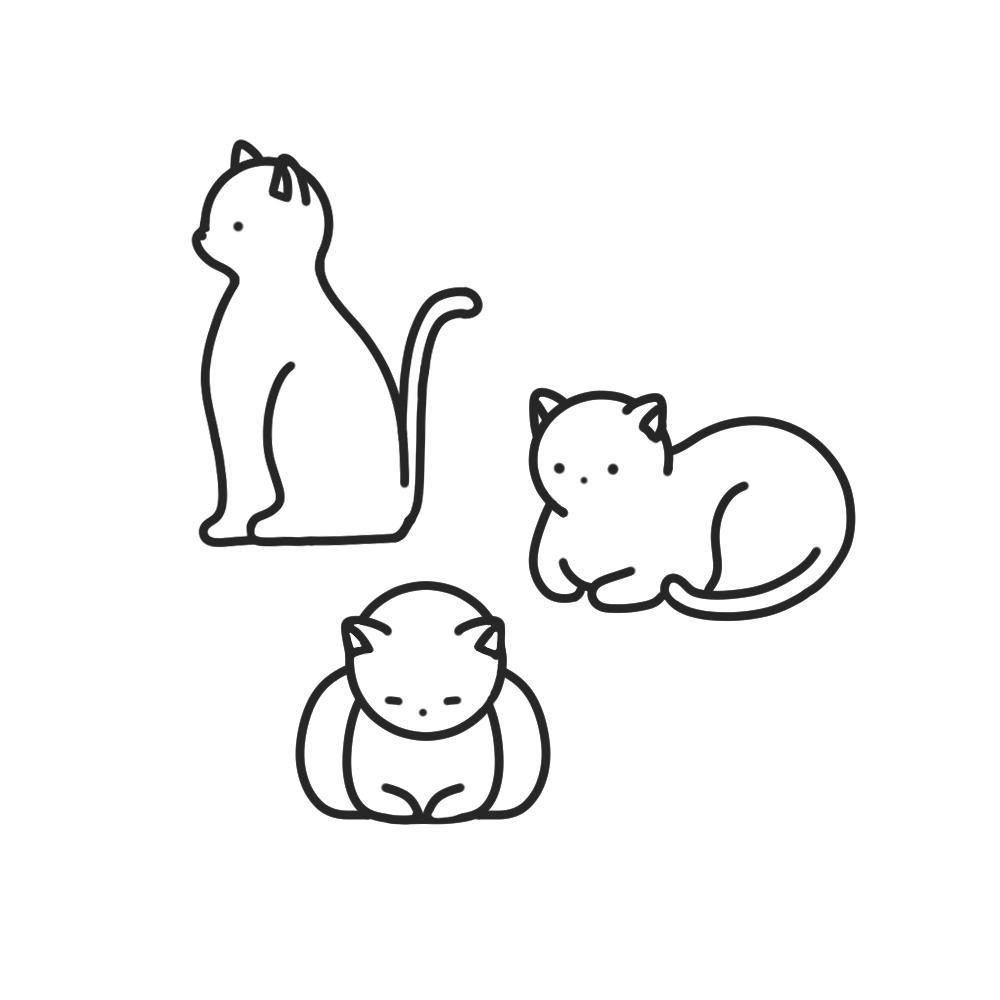 商用・公用・私用に対応!ポップなイラストを描きます キャッチーで伝わりやすい!人物、動物~幅広く対応可能です