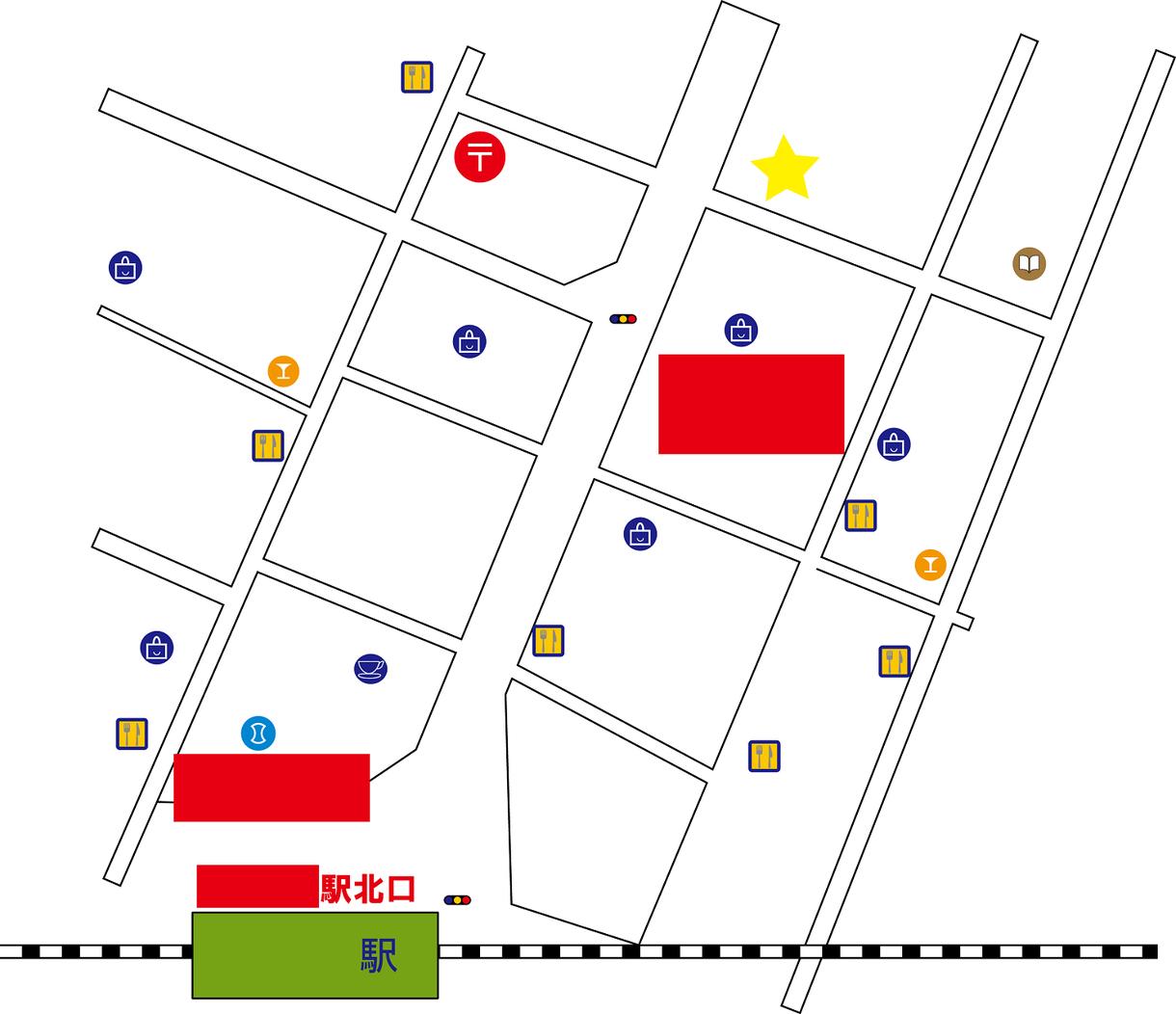 シンプルで見やすい地図お作りします クリエーター事務所で真心こめてじっくり地図作成いたします!