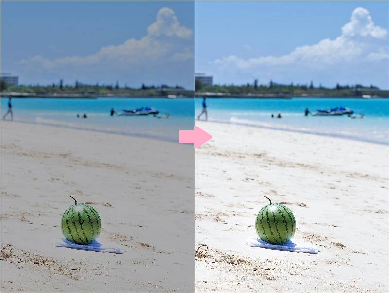 写真のお色味を理想の色に補正します お気にいりの写真をもっと!良くしたい方に