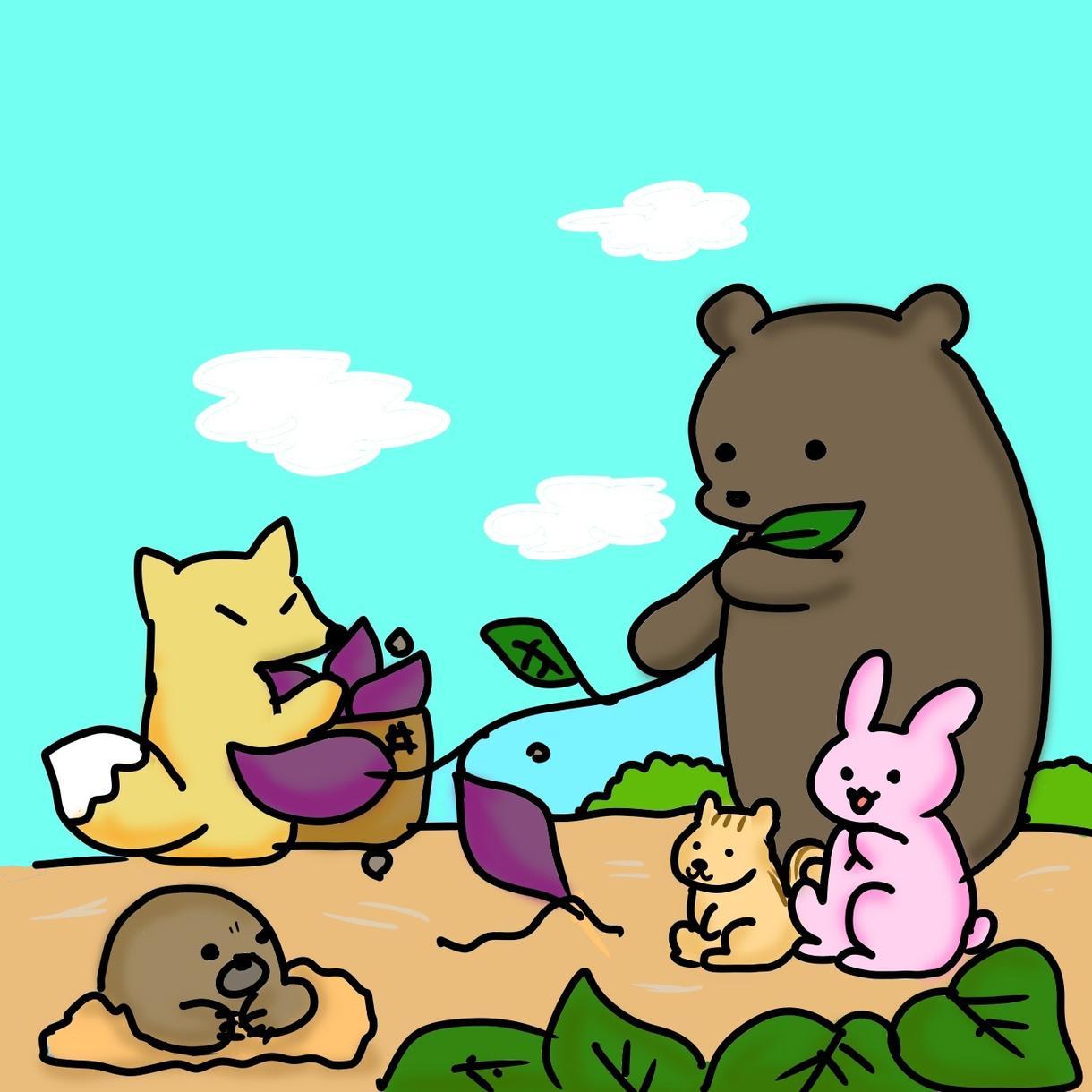 マスコットキャラクター作成します ちょっと変わった動物でもOK☆むしろ動物じゃなくてもOK☆