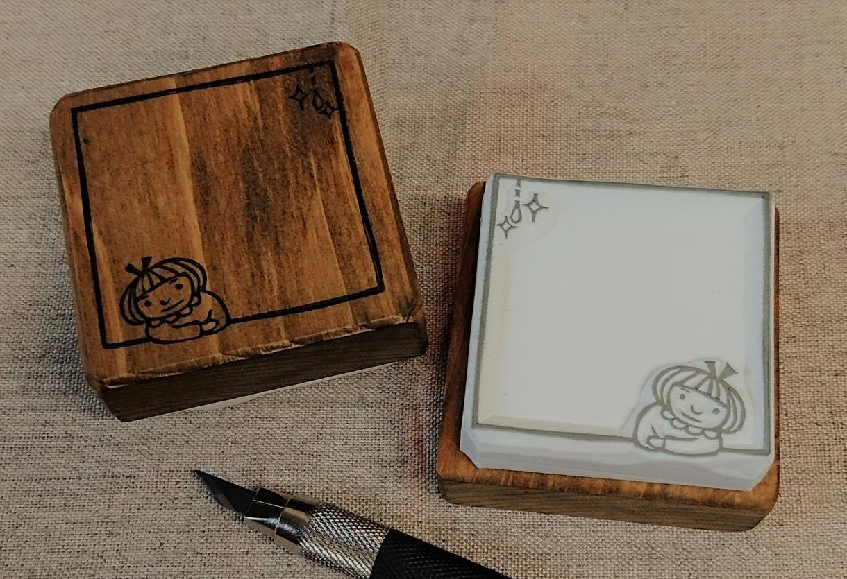 オリジナルの消しゴムはんこお作りします ご要望に合わせて図案から作成、イラスト持ち込みもOK