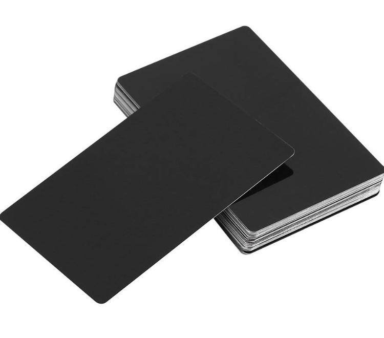 お洒落★メタル名刺、ショップカード制作します 紙とは違う金属の高級感ある自慢のカードを作ってみませんか?