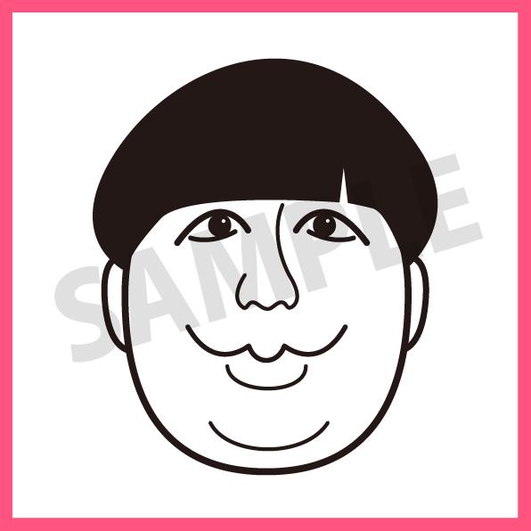 似顔絵アイコンお描きします 【商用可!】名刺やSNSにあなたらしさをプラスします!