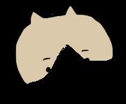 ゆるゆるな猫のアイコンを描きます